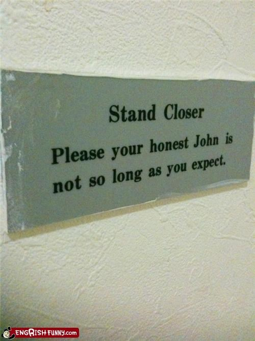 bathroom john lol sign - 4322996224