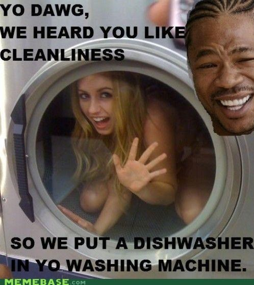 dishwasher washing machine Xzibit yo dawg - 4323215360