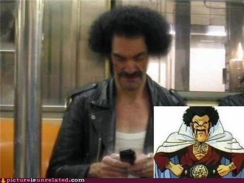awesome Dragon Ball Z epic hercule IRL mustache wtf - 4323608576