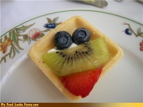 custard dessert fruit tart tiny - 4323940608