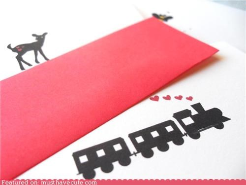 cards retro stationary valentines - 4323986432