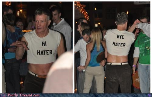 club,haters,haters gonna hate,shirt,weird