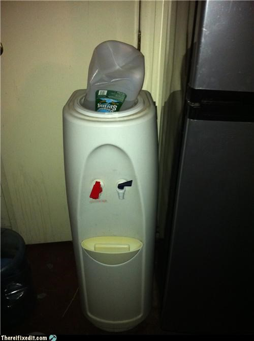 lazy Office water cooler