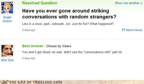 Blood lol misreading strangers strikes Yahoo Answer Fails - 4324866560