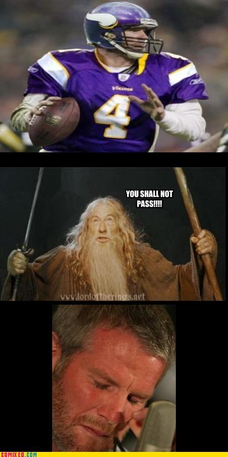 favre,football,gandalf,sports,the internets,you shall not pass