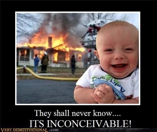 Babies disturbing doom evil fire happy kids the future the princess bride - 4325510144