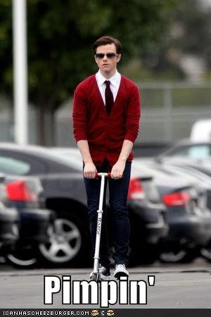 actor celeb chris colfer funny glee Hall of Fame - 4325601280
