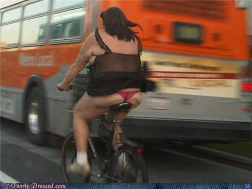 bike bus disgusting scary
