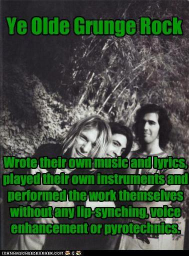 funny,grunge,kurt cobain,Music,nirvana