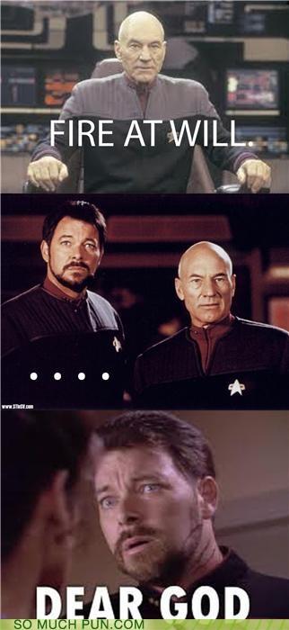 comic expression literalism saying Star Trek - 4326936064