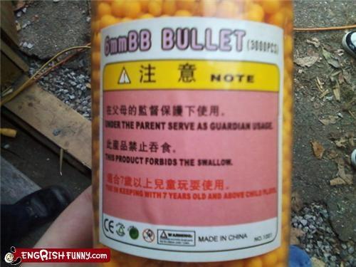 ammo bb engrish gun - 4327070976