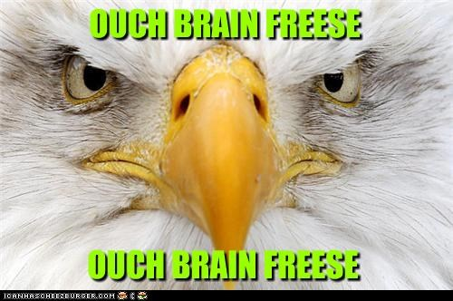 OUCH BRAIN FREESE OUCH BRAIN FREESE