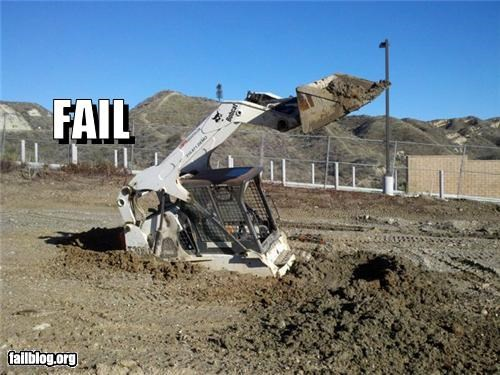 equipment FAIL failboat g rated tractor