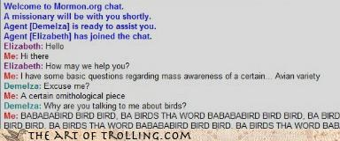 bird bird bird,family guy,Mormon Chat,ornithology,the word