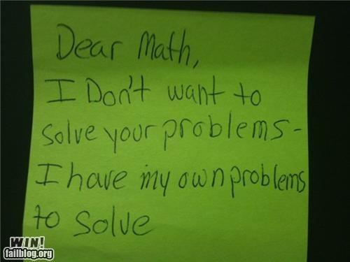 class math notes school