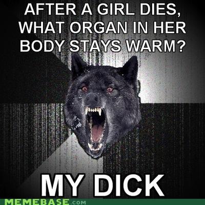 Death Insanity Wolf necrophilia organ - 4327755776