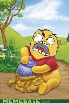 hunny rage Rage Comics winnie the pooh - 4327932672