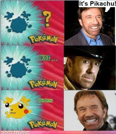 actor,chuck norris,comic,funny,Pokémon