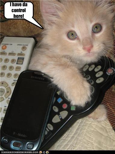 I have da control here!