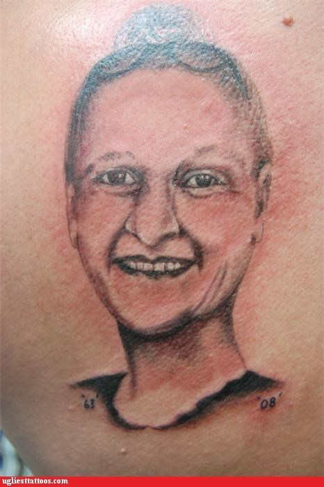 bad portraits tattoos