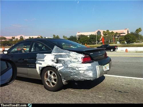 body work cars duct tape ugly - 4328959232