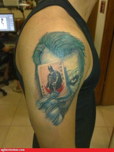 batman,joker,tattoos