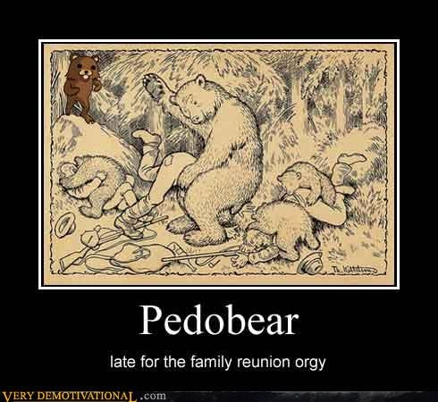 animals,bears,family reunion,orgy,pedobear,Rule 34,weird