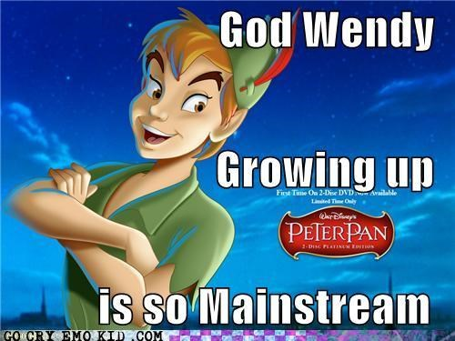 disney hipster movies peter pan wendy - 4329359104