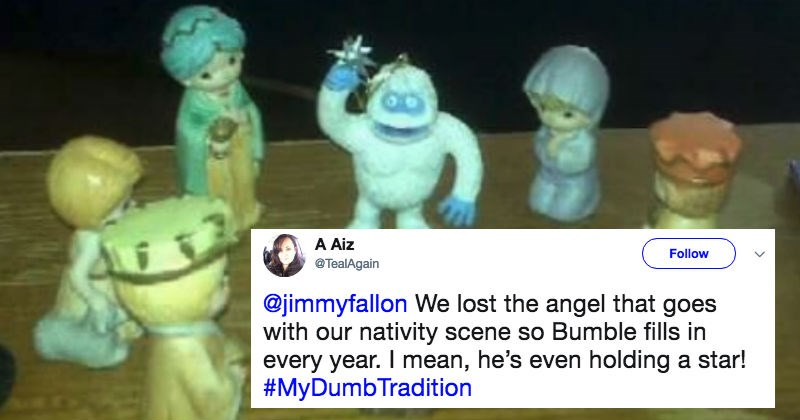 People share their dumbest holiday traditions on Twitter, and these are ridiculous.