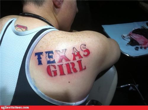 texas wtf tattoos