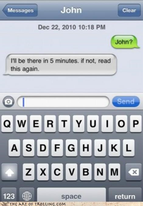 appointment,john,meeting,text,time