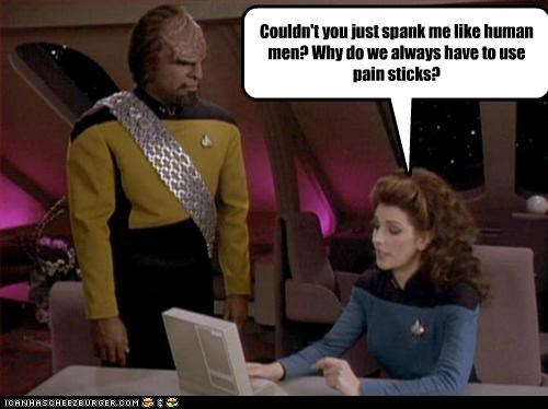 actor celeb funny Michael Dorn sci fi Star Trek - 4330243840