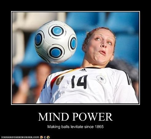 MIND POWER Making balls levitate since 1865