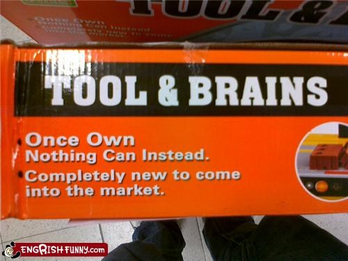 brains tools zombie