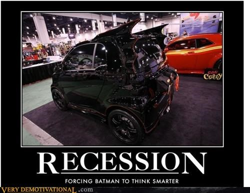 batman batmobile in this economy sad but true smart car - 4330458880