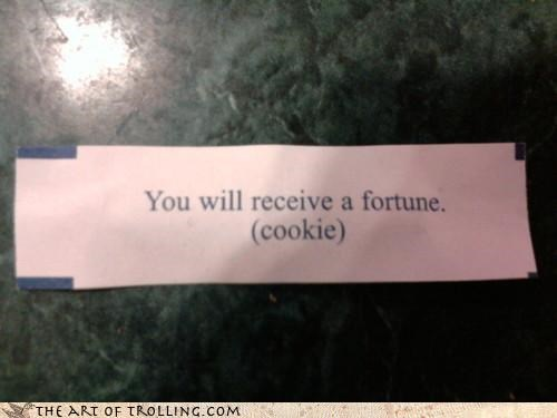 chinese food,fortune cookie,good guess,IRL,obvious,prescience
