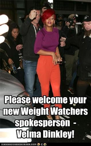 Please welcome your new Weight Watchers spokesperson - Velma Dinkley!