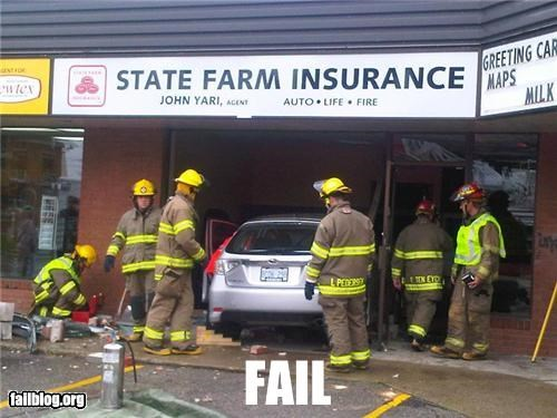 classic crashed failboat insurance irony parking - 4332381440