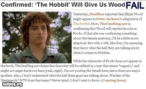 actors boners failboat headline movies Probably bad News The Hobbit - 4332634112