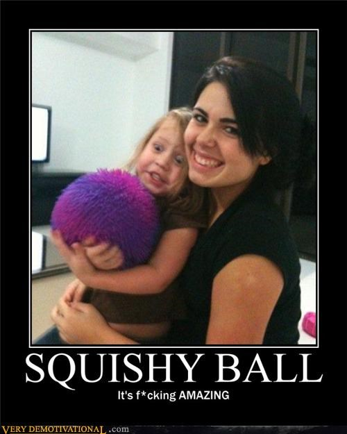 amazing,awesome,kids,lol,omg,photobomb,squishy ball