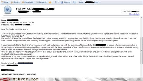 email funny resignation tldr - 4333510656