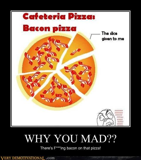 cafeteria pizza mad bacon - 4333599744