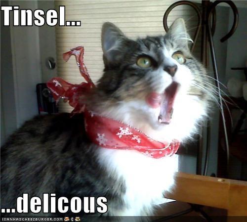 Tinsel...  ...delicous