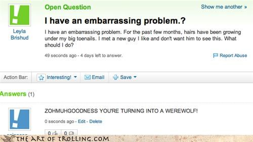 embarrassing hair problem teen wolf teen wolf too werewolf Yahoo Answer Fails - 4333882112
