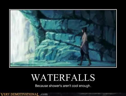 cool shower waterfall - 4333912320