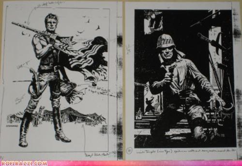art,cool,george lucas,Indiana Jones,jim steranko