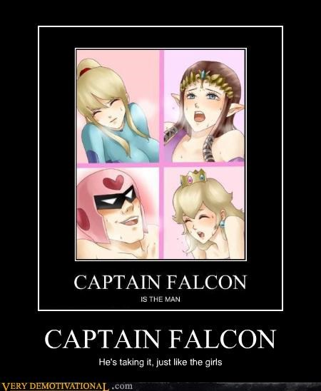 smash bros sexy times captain falcon - 4334014208