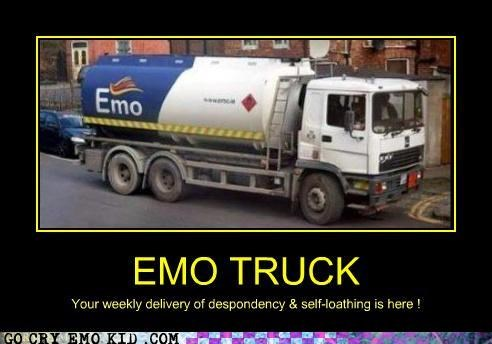 delivery despondency emo gas self-loathing truck - 4334017536