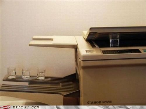 alcohol copy drinking ink printer