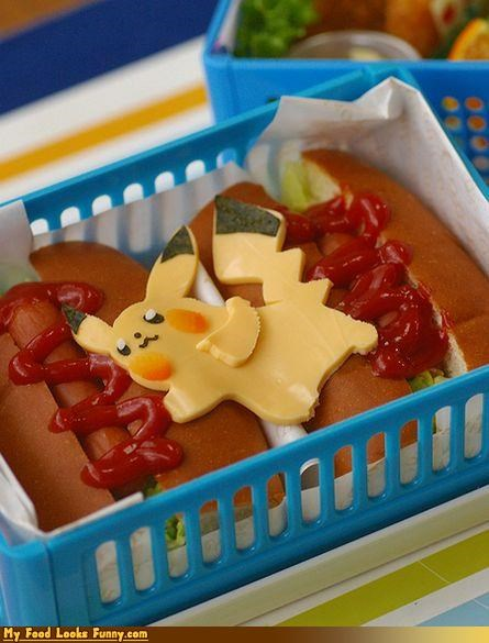 cheese hot dogs nintendo pikachu Pokémon video games - 4334241536